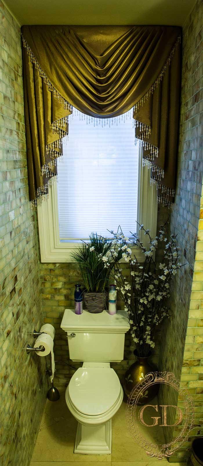 Valance For Bathroom Window Treatment Gallery Bergen County Nj
