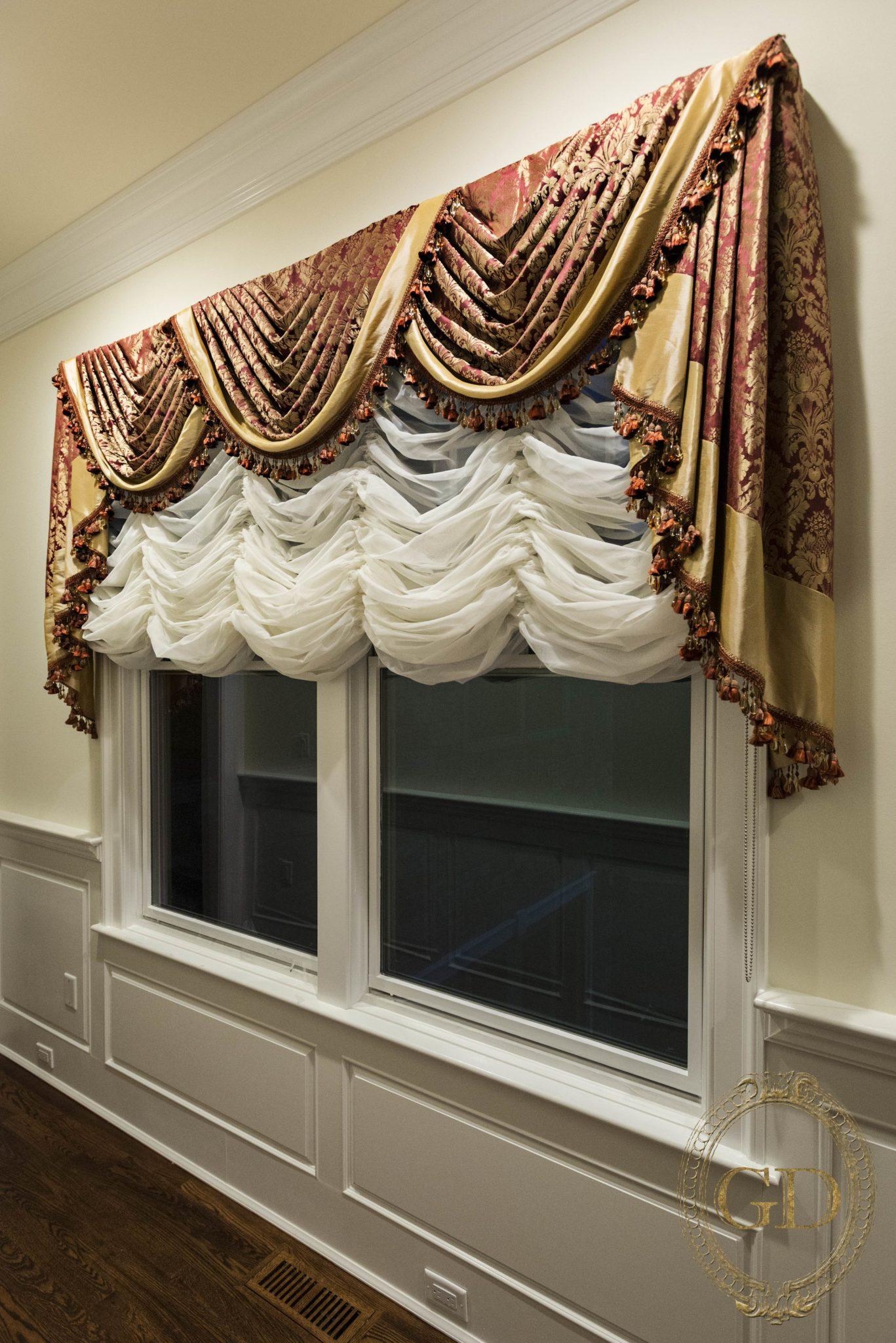 Custom Austrian Window Treatments Gallery Bergen County Nj